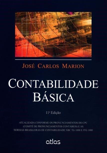 Contabilidade-básica -livro-de-José-Carlos-Marion. R$97,9