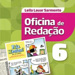 Livro Oficina de Redação - 6º Ano - 5ª Ed. 2016 Leila Lauar Sarmento-R$119,99