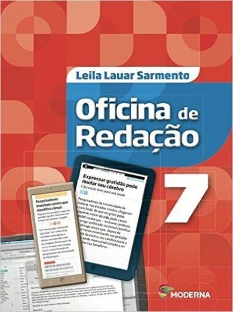 Oficina de Redação - 7º Ano - 5ª Ed. 2016-Leila Lauar Sarmento-R$119,99