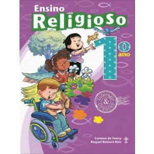 ENSINO RELIGIOSO - INTERAGIR E CRESCER - 1º ANO Autor: Carmen de Souza e Raquel Reinert Reis. R$76,43