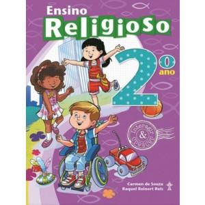 ENSINO RELIGIOSO - INTERAGIR E CRESCER - 2º ANO Autor: Carmen de Souza e Raquel Reinert Reis Livro indicado para alunos do 2º ano da Escola Adventista..R$ 76,43
