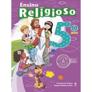 ENSINO RELIGIOSO - INTERAGIR E CRESCER - 5º ANO Autor: Carmen de Souza e Raquel Reinert Reis Livro indicado para alunos do 5º ano da Escola Adventista.R$76,43