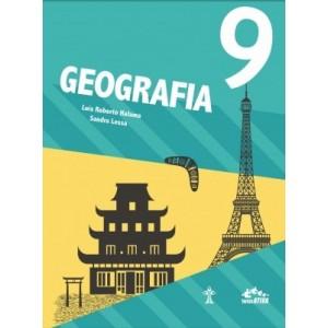 Livro GEOGRAFIA - INTERÁTIVA - 9º ANO Autor: Luas Roberto Halama e Sandra Lessa.POR: R$90,99