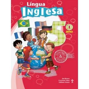 LÍNGUA INGLESA INTERAGIR E CRESCER 5º ANO Autor: Beth Vollmer Chagas e José Augusto Oliveira Os livros de Língua Inglesa. R$85,01